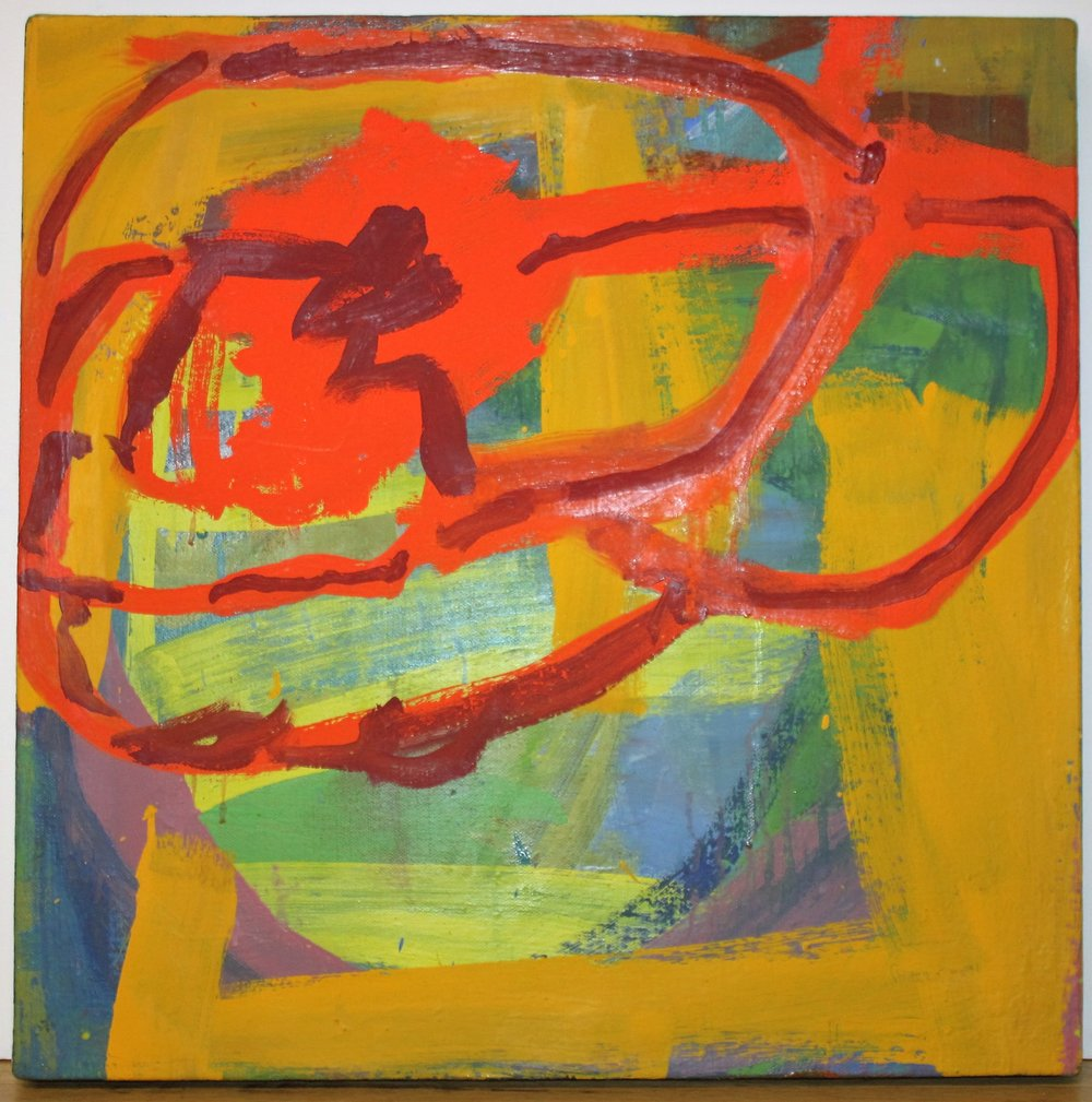 "Zing large – James Biederman, ""Zing"". 2010. Oil on linen."