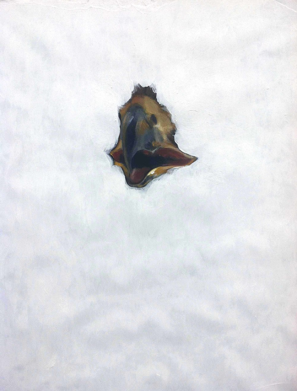 Ornament (Falcon),  2012  Acrylic on panel  18x24""