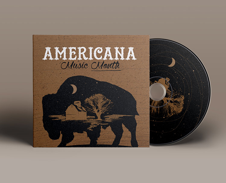 Design for Warner Music /  Americana Music Month
