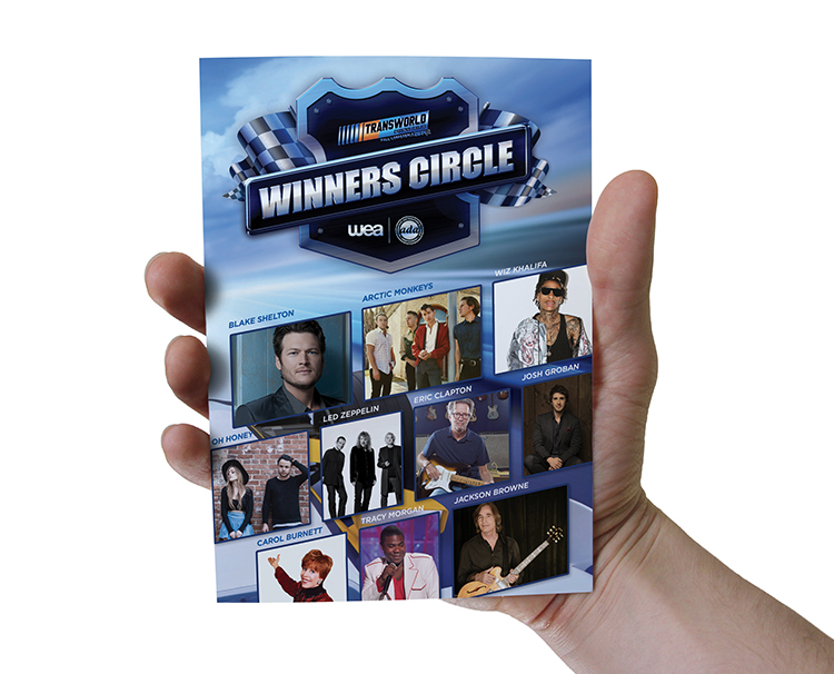 Brochure Design for Warner Music Group