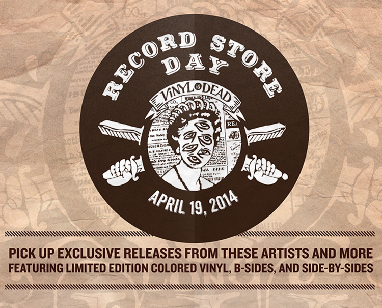 Set of posters for Record Store Day