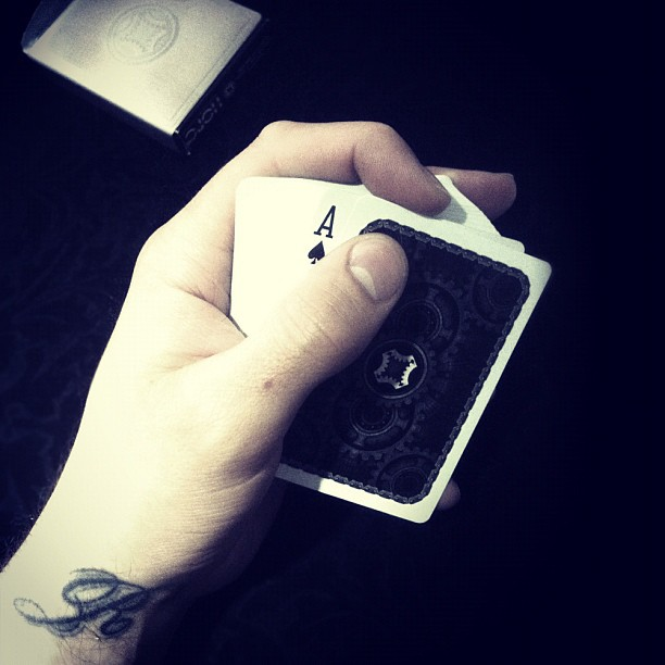 Playing card love from one of the best 'Card Mechanics' out there Daniel Madison.