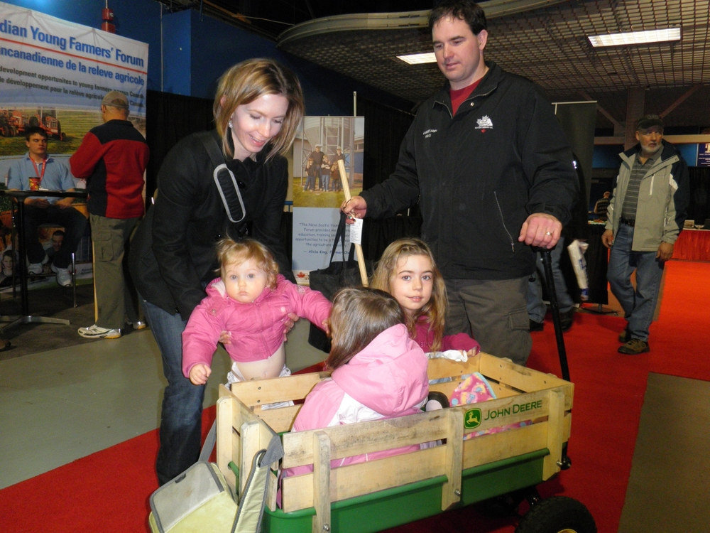 The Farm Show: A family affair.
