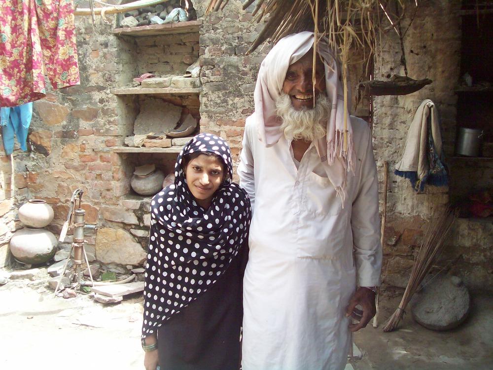 Arastun与她的祖父