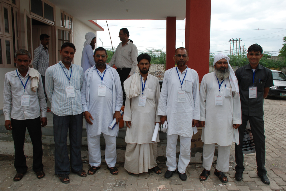 SMC members with first ID tags anywhere in India developed by LEARN