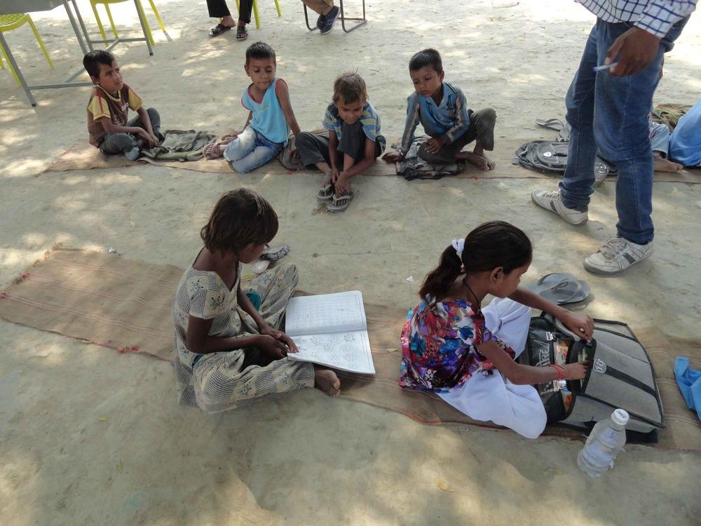 Sonia in her class.jpg