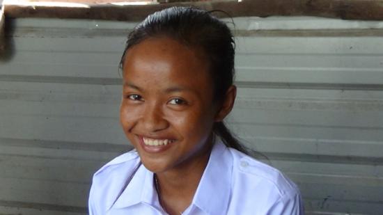 Sok Luen, GATE student in Phnom Penh