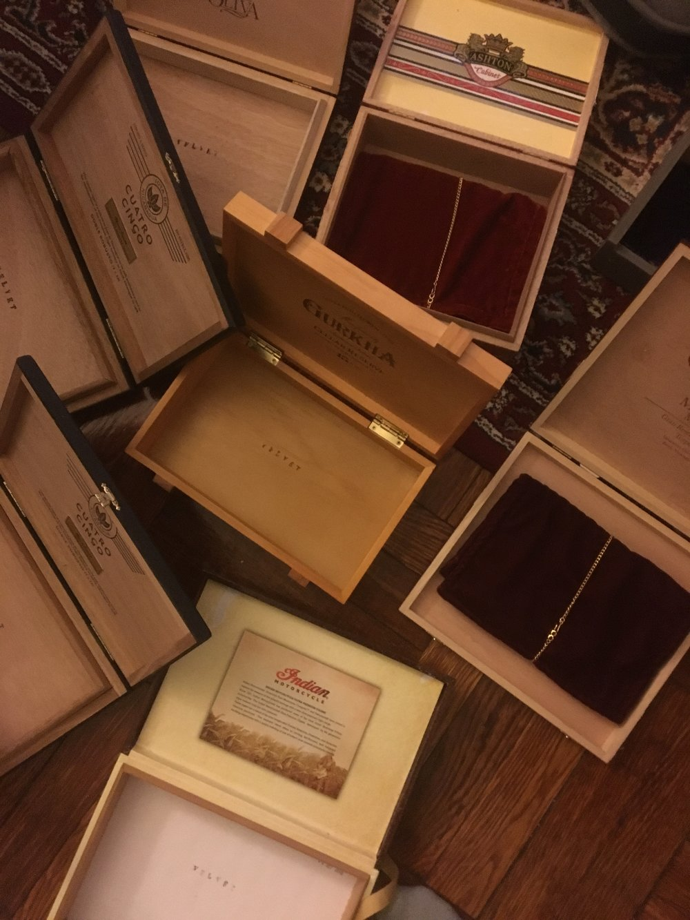 Thank you to everyone who bought VELVET. My apartment floor has been covered with these boxes and now they're mostly gone...can't help but feel pretty attached to them. Hope you're listening and getting lost in it...