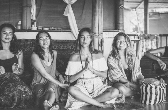 Santosha Yoga Institute, Bali, 2016. -