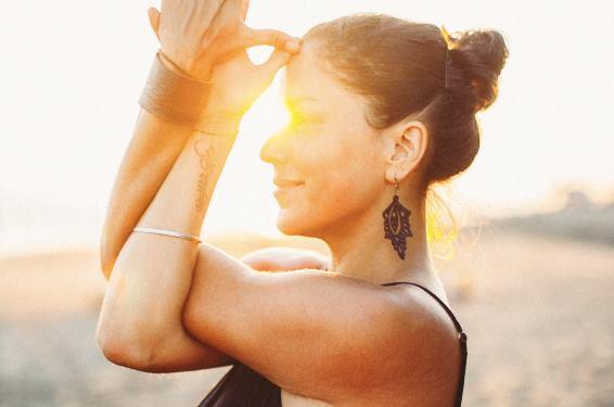 Elena Brower,world renowned yoga teacher & entrepreneur,New York City, 2017. -