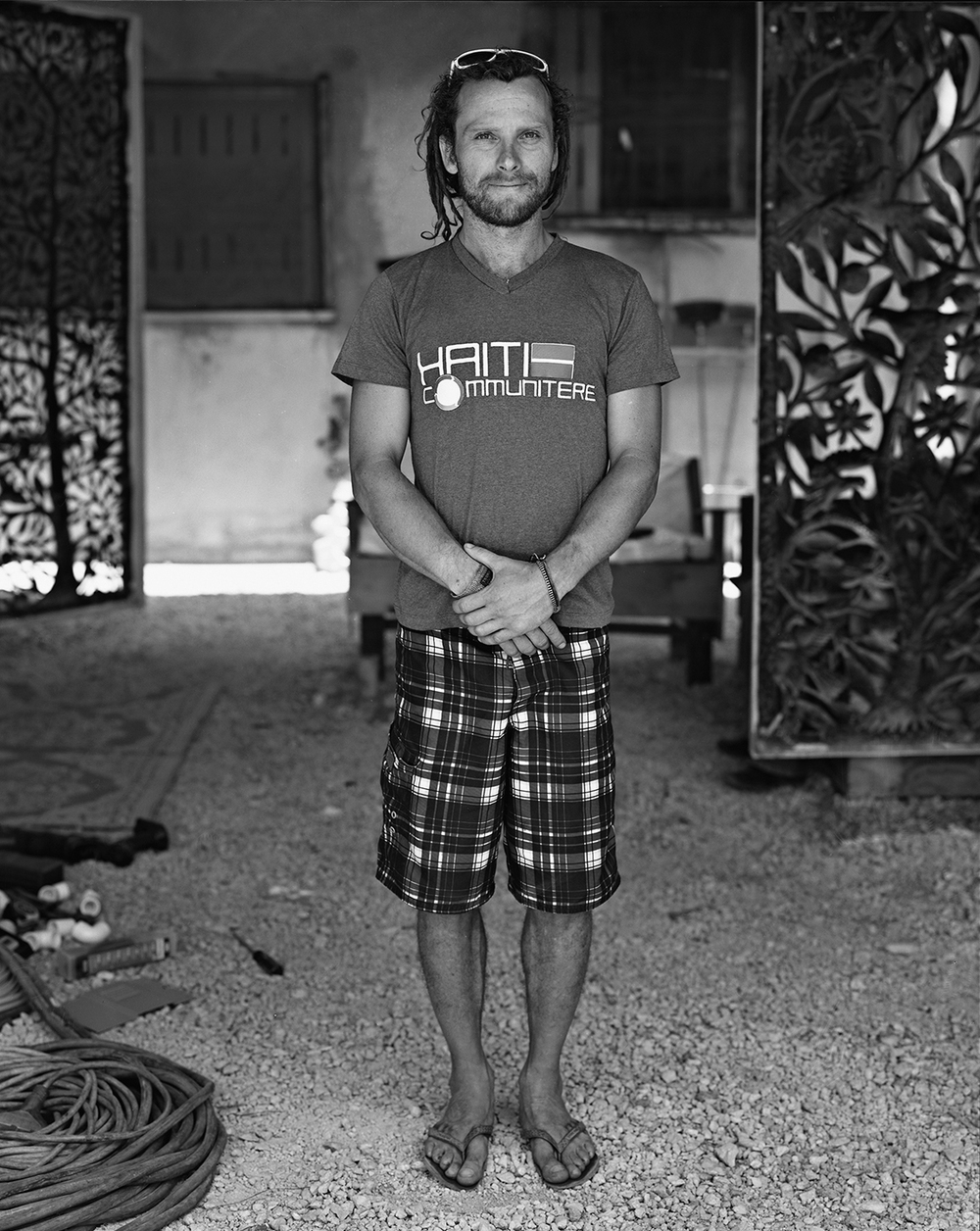 Sam Bloch At Haiti Communitaire, May 2012