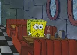 Spongebob: Post-college rejection