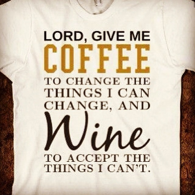 Need this shirt #coffee #wine #idovino