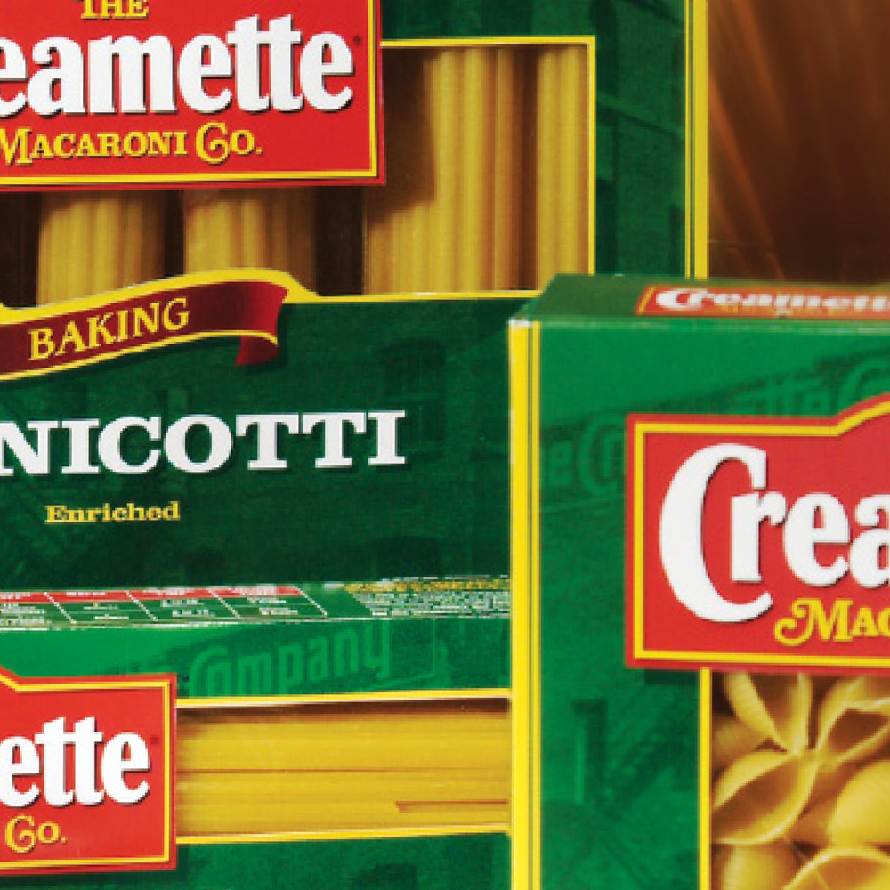 CREAMETTE | PASTA   REVITALIZATION STRATEGY GENERATES BRAND EQUITY & NEW SALES
