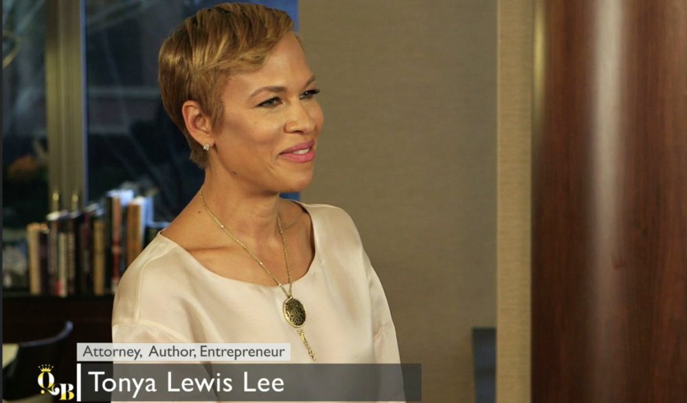 Host of QB's pilot series, Tonya Lewis Lee