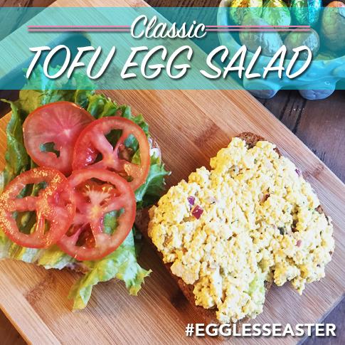 Classic Tofu Egg Salad