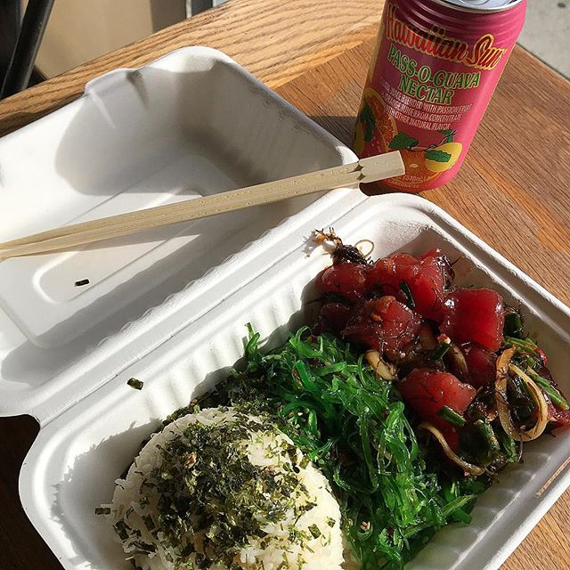 Feel good lunch 🌎❤️♻️ #compostable #biodegradable #oceanfriendly