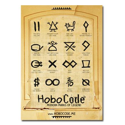 Hobo Code Symbols Set 1 Hobo Code