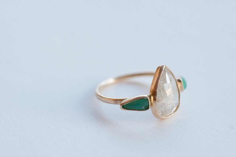 Robin + Mike diamond chrysocolla ring-6.jpg