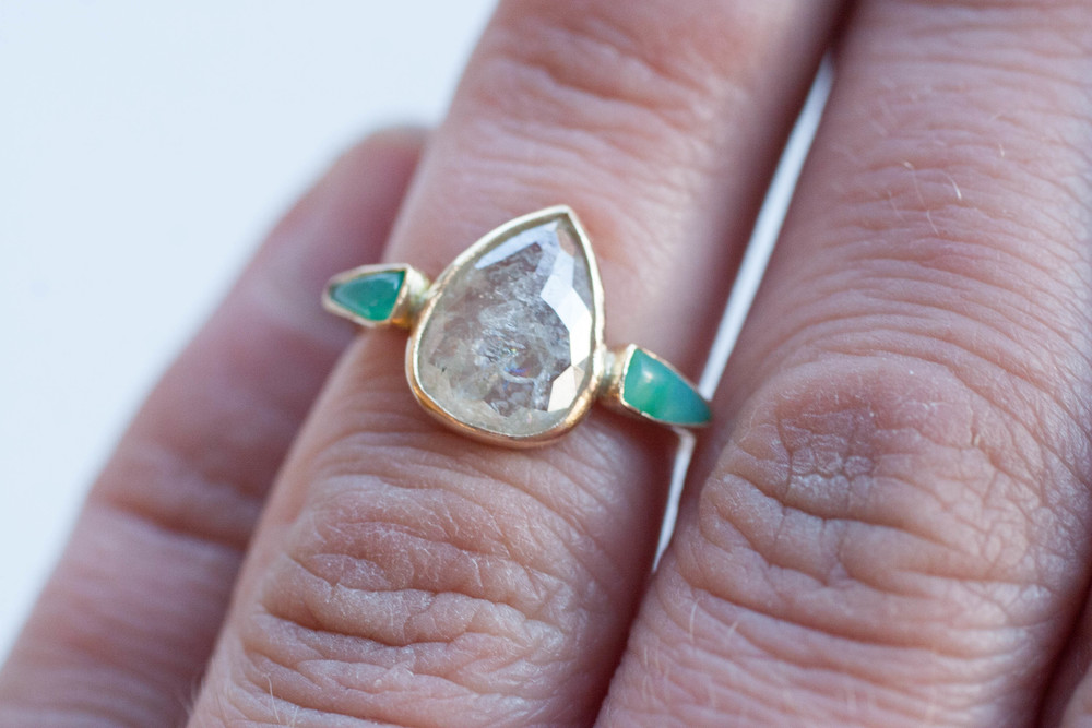 Robin + Mike diamond chrysocolla ring-15.jpg