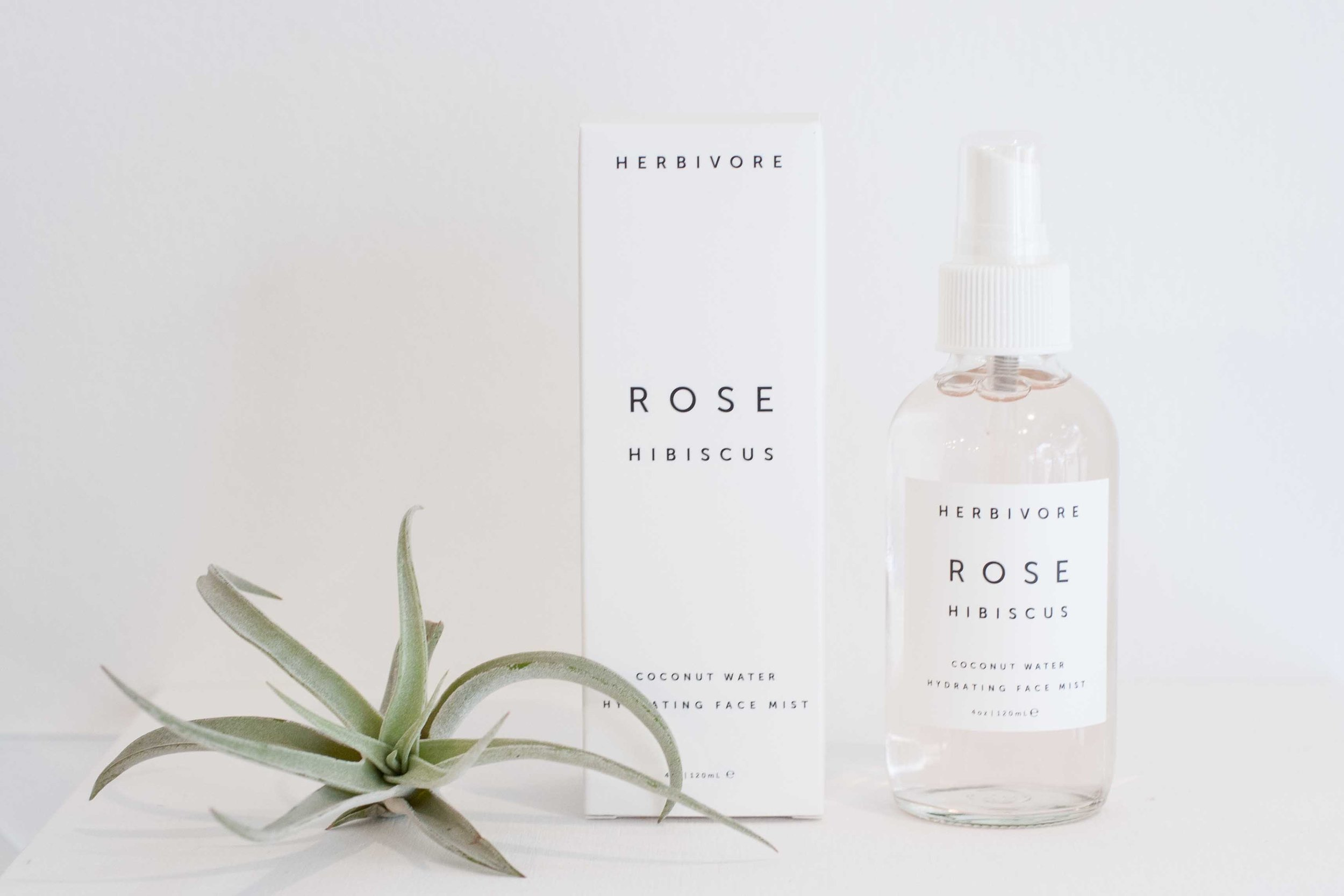 Rose Hibiscus Hydrating Face Mist Herbivore Mineralogy
