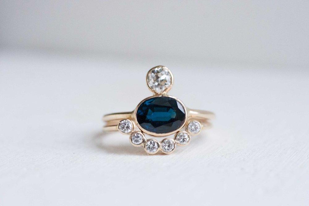 Dylan + Hannah Heirloom Sapphire Ring-2.jpg