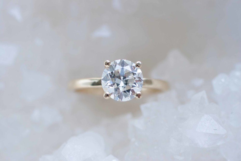 Lauren + Josh Custom Heirloom Diamond Solitaire-10.jpg