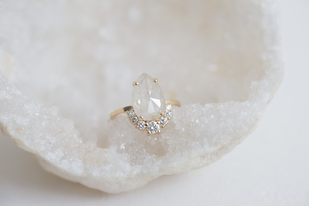 Islay Custom Rustic Pear Cluster Engagement-4.jpg