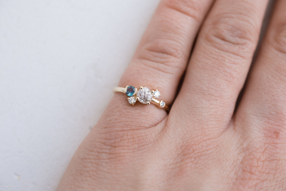 Lindsay + Matt Custom Heirloom Diamond + Alexandrite-6.jpg