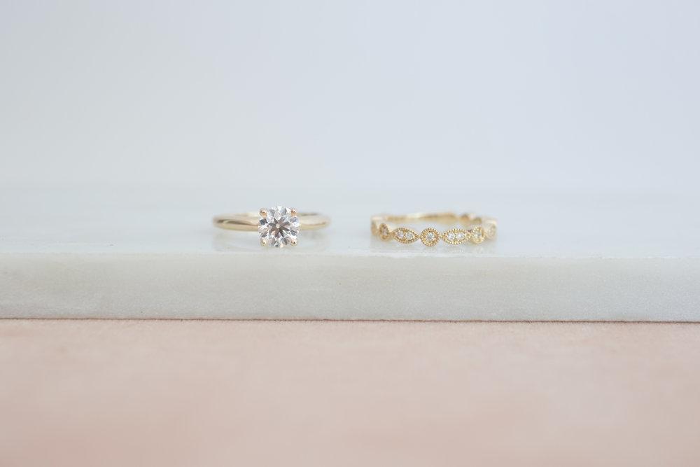Elizabeth Schut Diamond Solitaire + Diamond Wedding Band-3.jpg
