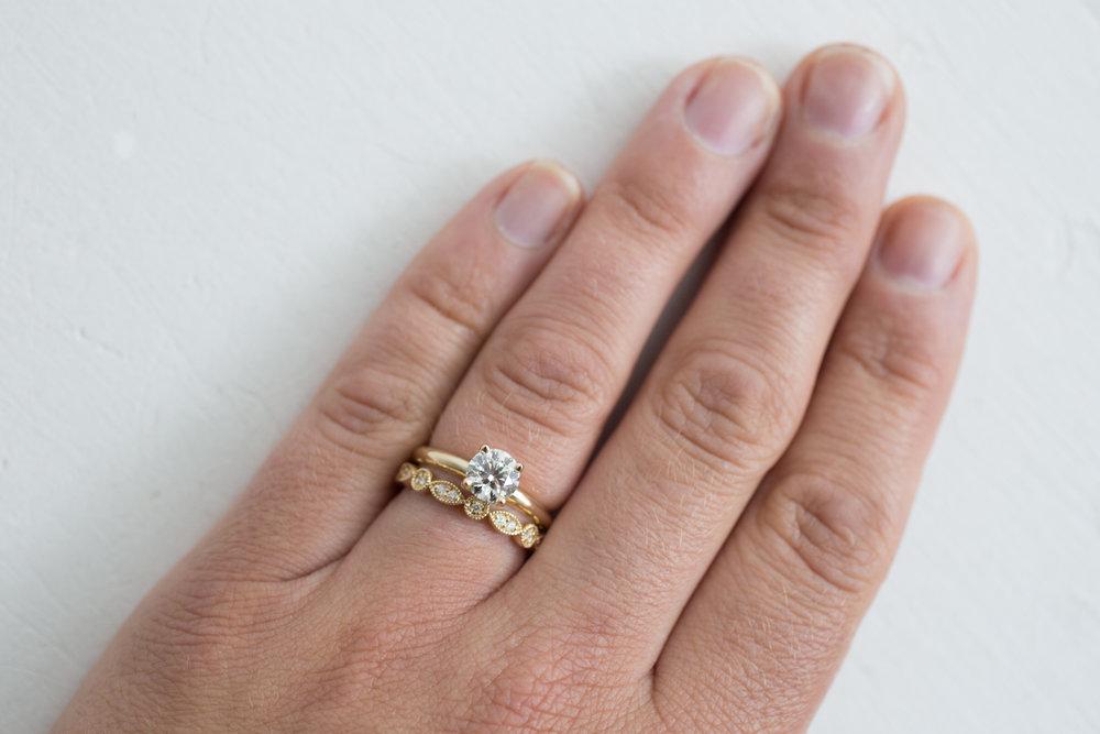 Elizabeth Schut Diamond Solitaire + Diamond Wedding Band-18.jpg
