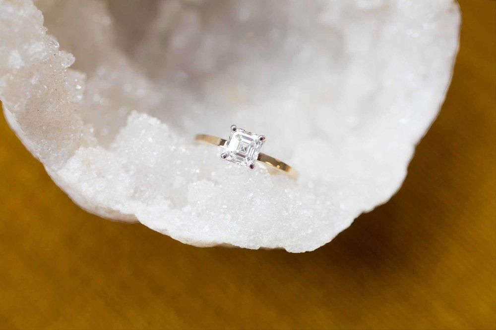 Hannah + Tom Asscher Diamond Solitaire-2.jpg