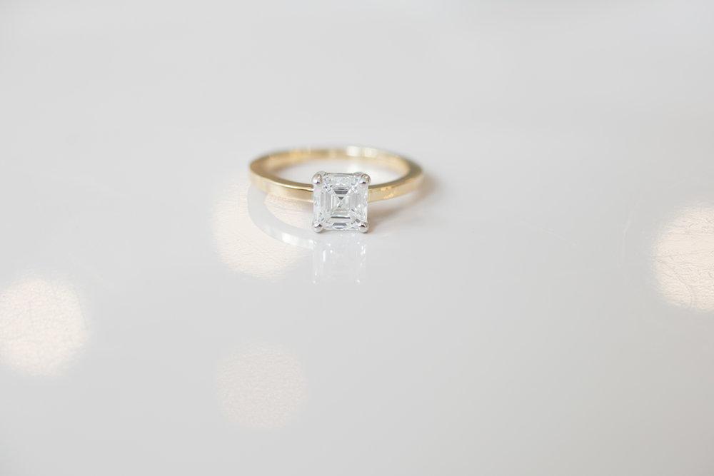 Hannah + Tom Asscher Diamond Solitaire-3.jpg
