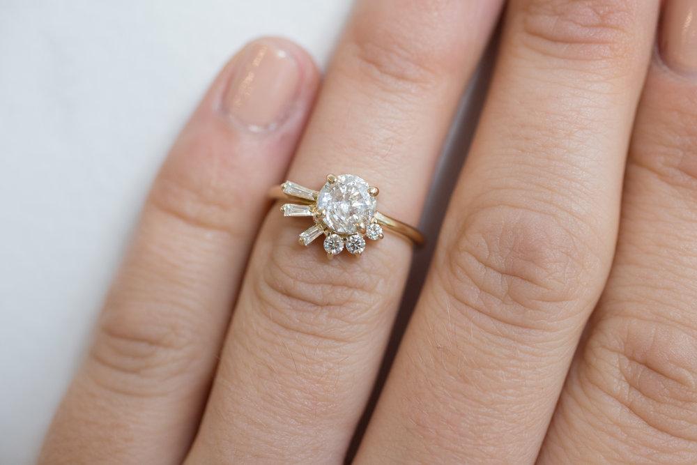 Brandi + John Heirloom Diamond Cluster Ring-13.jpg