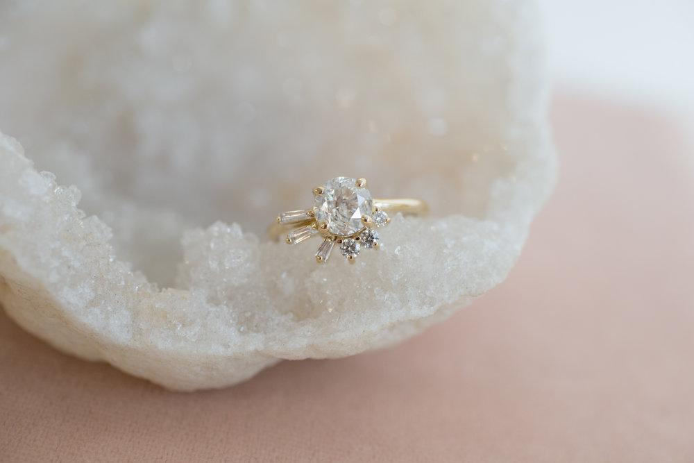 Brandi + John Heirloom Diamond Cluster Ring-1.jpg