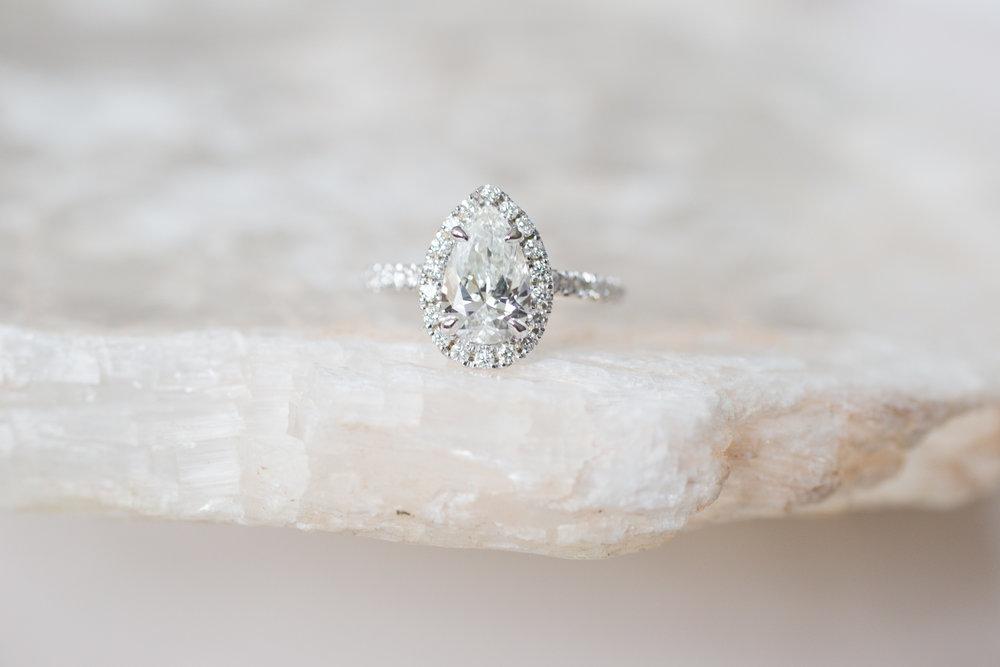 Charlie + Abi 1.2 ctw Pear Diamond Halo Engagement -1.jpg