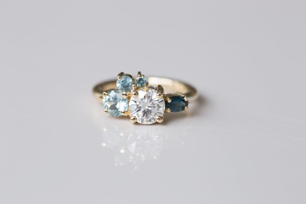 Eric + Molly Heirloom Diamond + Sapphire Ring-1.jpg