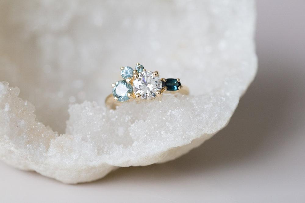 Eric + Molly Heirloom Diamond + Sapphire Ring-7.jpg