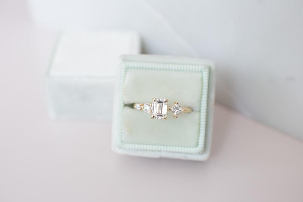 Sam + Danny Balogh Emerald Cut Diamond Line Cluster Ring-11.jpg