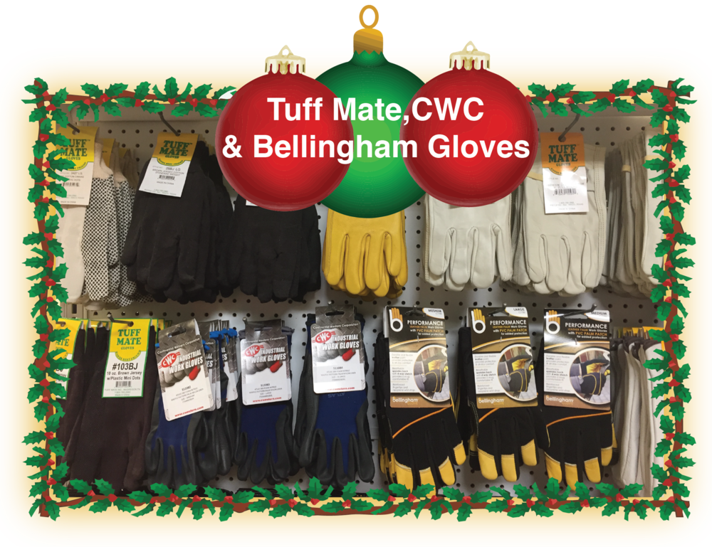 Smith Supply offers a variety of gloves to keep your hands safe and warm but still usable.