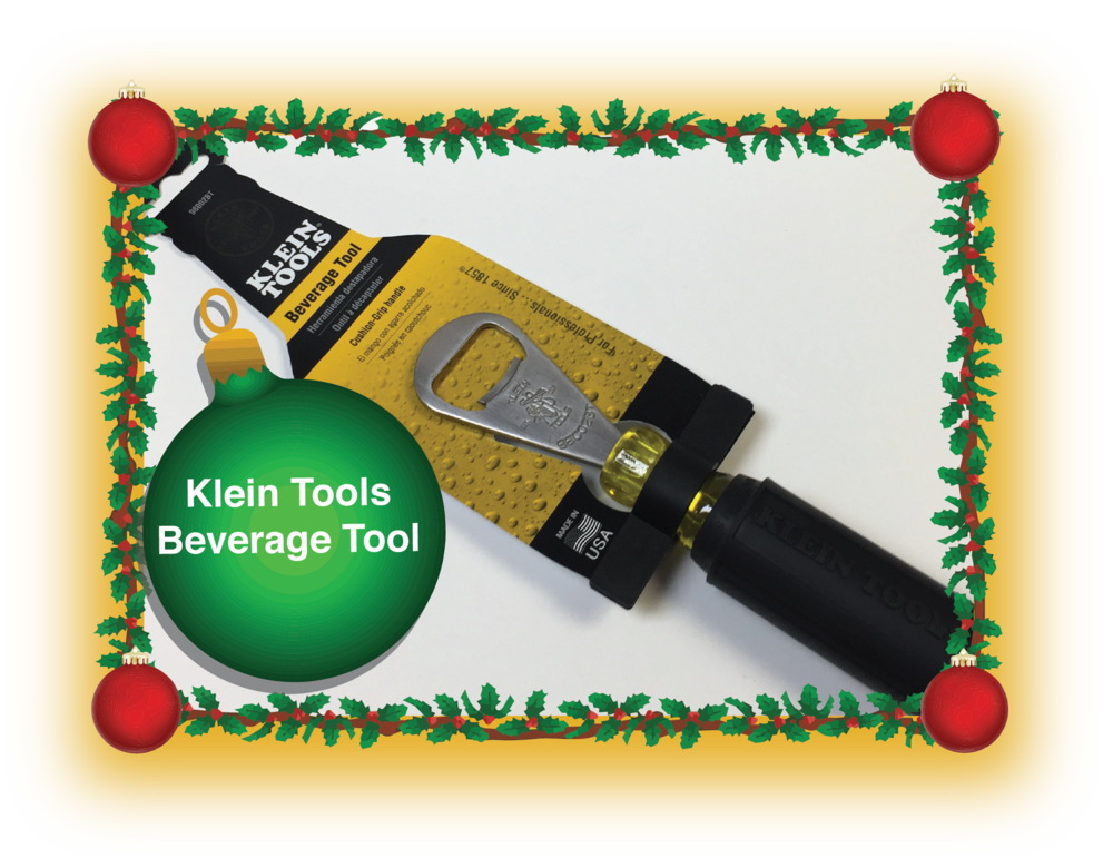 Stuff a stocking with the Klein Tools Beverage Tool!