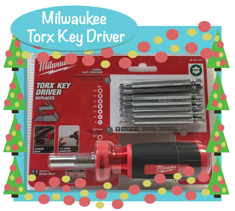 Milwaukee offers a Torx Key Driver! Part Number: 48-22-2103