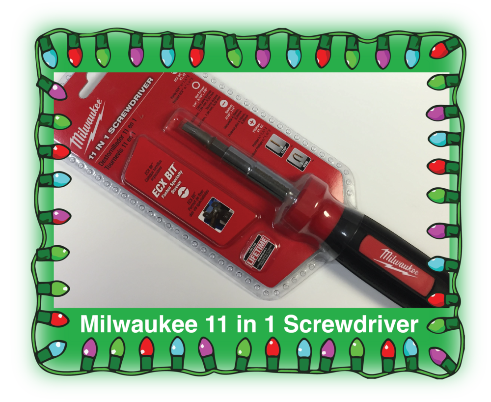 Milwaukee 11 in 1 Screwdriver. Product Number: 48-22-2113