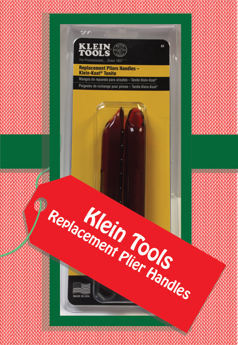 Replacement Plier Handles by Klein Tools