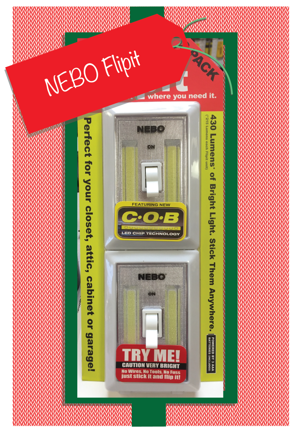 NEBO Flipit- two pack.