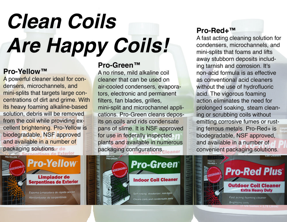 Smith Supply is your SOLUTION to keeping you AC is proper working condition! Stop in and grab a coil cleaner. Not a DIYer? Ask us for recommendations on a local AC company to come out and give you a hand!
