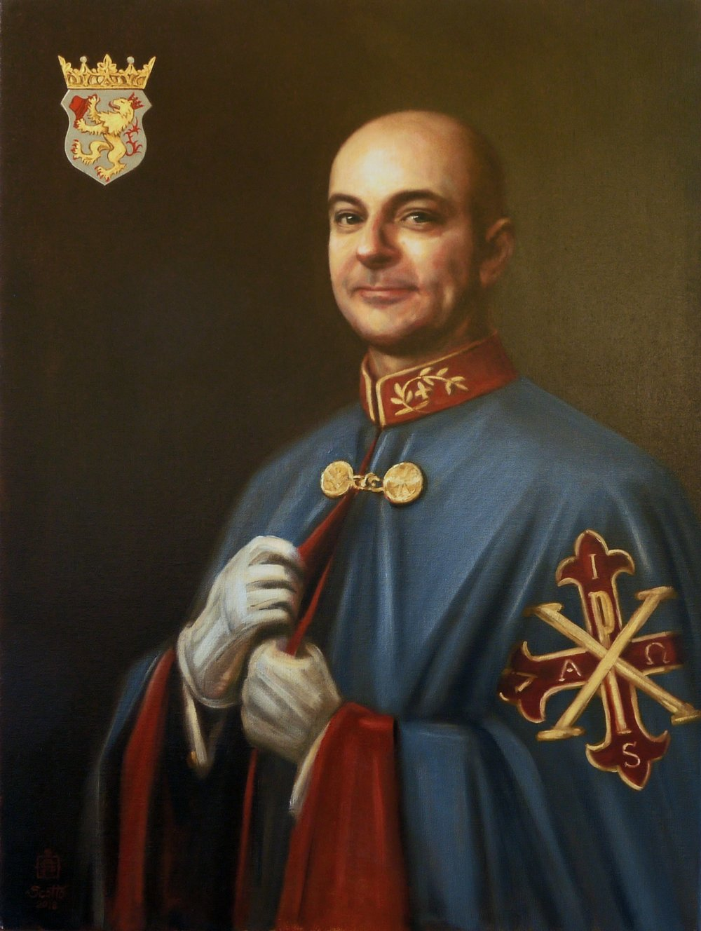 Marco Foppoli, Knight Iure Sanguinis Sac. Mil. Constatinian Order of St George