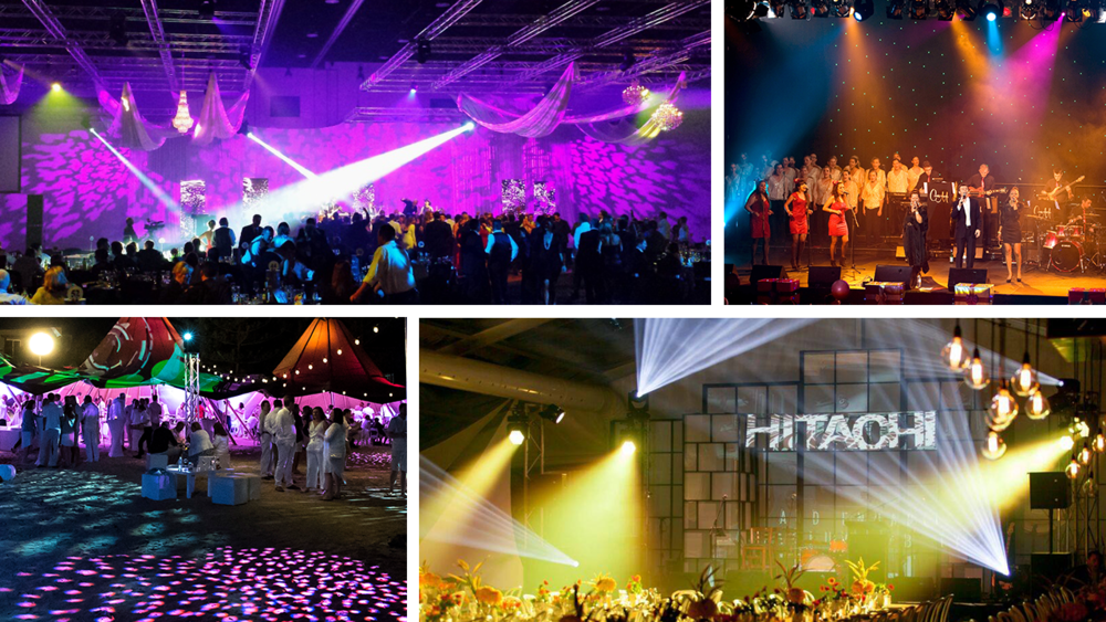Lighting - CONCERTS | FESTIVALS | STYLING | EFFECTS | COLOUR BRANDING
