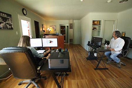 MidTown Printing workspace