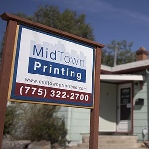 MidTown Printing sign
